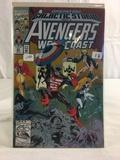 Collector Marvel Comics Galactic Stor Part 2 Avengers West Coast Comic Book No.81