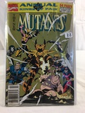 Collector Marvel Comics Annual Part Kings Of Pain The New mutants Comic Book NO.7