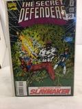 Collector Marvel Comics The Secret Defenders Comic Book No.21