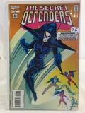 Collector Marvel Comics The Secret Defenders Comic Book No.22