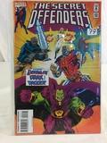Collector Marvel Comics The Secret Defenders Comic Book No.23