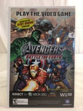Collector Marvel Play The Video Game The Avengers Battle For Earth Comic Book
