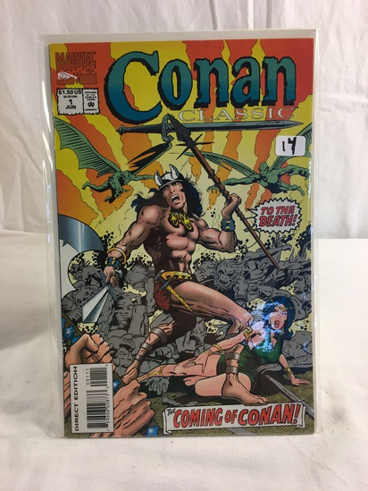 Collector Marvel Comics Conan Classic The Coming Of Conan Comic Book No.1