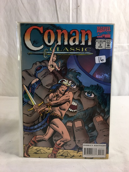 Collector Marevl Comics Conan Classic Comic Book No.3