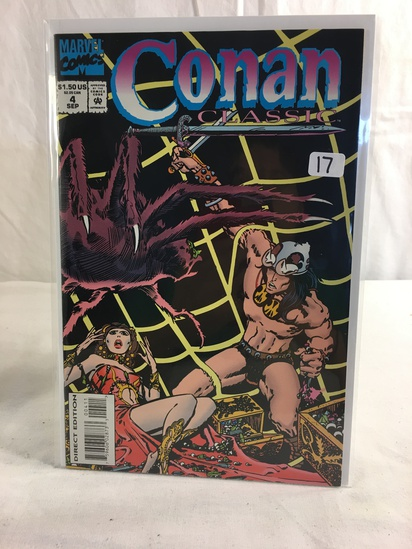 Collector Marevl Comics Conan Classic Comic Book No.4