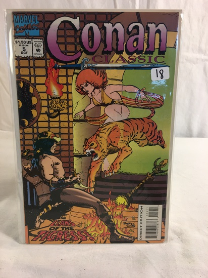 Collector Marevl Comics Conan Classic Comic Book No.5