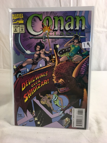 Collector Marevl Comics Conan Classic Comic Book No.6