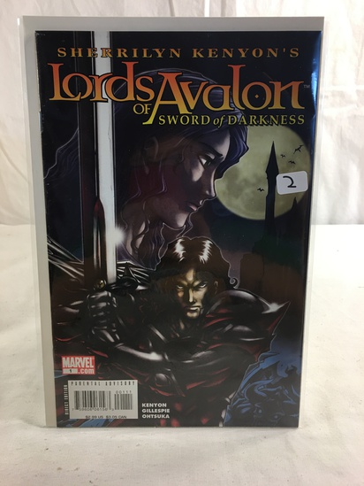 Collector Marvel Comics Lords Of Avalon Sword Of Darkness Comic Book No.1