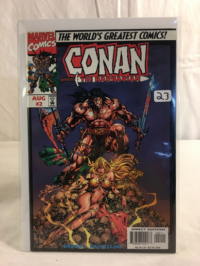 Collector Marvel Comics The Barbarian With A Vegeance Comic Book No.2