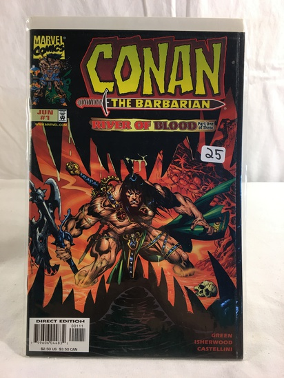 Collector Marvel Comics The Barbarian River Of Blood Part one Of Three Comic Book #1