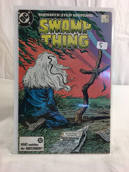 Collector Vintage DC, Comics Swamp Thing Comic Book No.55