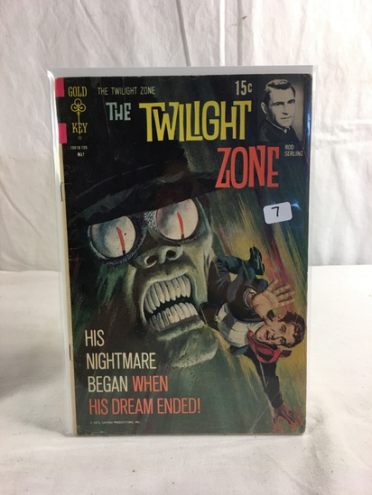 Collector Vintage Gold Key Comics The Twilight Zone Comic Book No.105