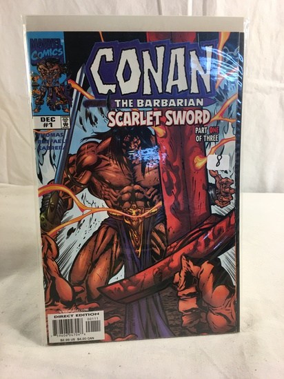 Collector Marvel Comics Conan The Barbarian Scarlet sword Comic Book No.1