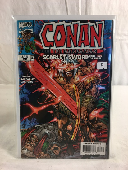 Collector Marvel Comics Conan The Barbarian Sacrlet Sword Part Two Of Three Comic #2