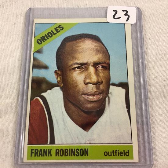 Collector Vintage 1965 T.C.G. Sport Baseball Card Frank Robinson #310 Topps Balt. Orioles Sport Card