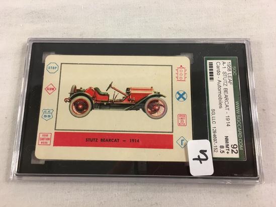 Vintage 1958 Leaf A-1 Stutz Bearcat 1914 Cardo Card Automobiles SCG 92 NM/MT+8.5 SG 1294697-152