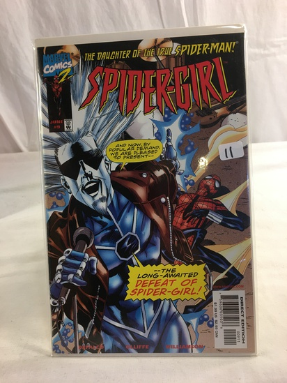 Collector Marvel Comics 2 The Daughter Of The True Spider-man Spider-Girl Comic Book #9