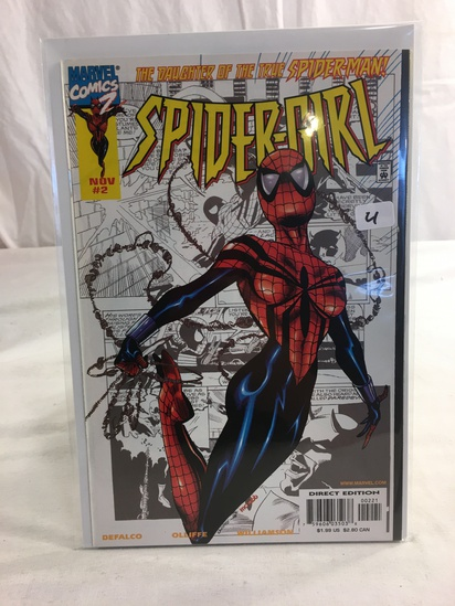 Collector Marvel Comics 2 The Daughter Of The True Spider-man Spider-Girl Comic Book #2