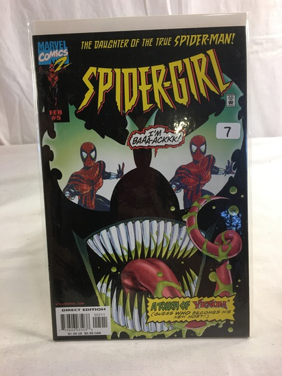 Collector Marvel Comics 2 The Daughter Of The True Spider-man Spider-Girl Comic Book #5