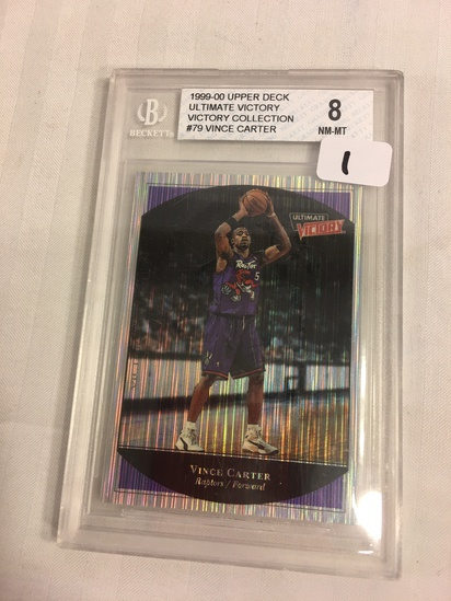 Collector Beckett 1999-00 Upper Deck Ultimate Victory Collection #79 Vince Carter NM-MT 8 Sport Card