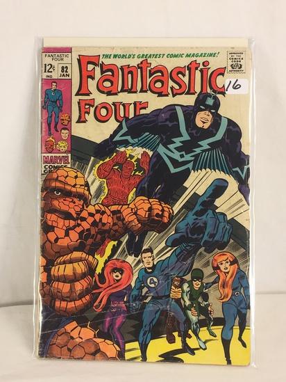 Collector Vintage Marvel Comics Fantastic Four Comic Book No.82