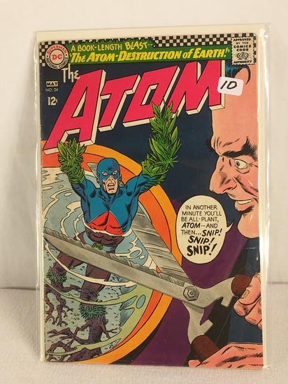 Collector Vintage DC, Comics The ATOM The ATOM Destruction Of Earth Comic Book NO.24