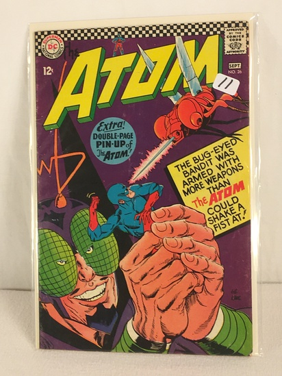 Collector Vintage DC, Comics The ATOM Extra Double-Page Pin-UP Of The ATOM Comic Book #26