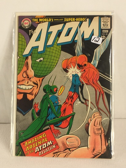 Collector Vintage DC, Comics The ATOM Amazing Arsenal Of The ATOM Assassin Comic Book #33