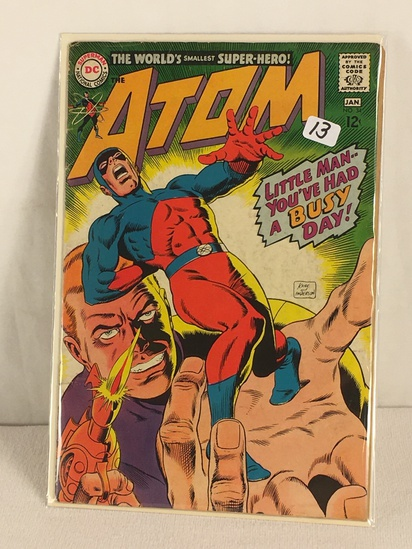 Collector Vintage DC, Comics The ATOM Litle Man You've Had a Busy Day Comic Book #34