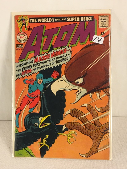 Collector Vintage DC, Comics The ATOM Major Mynah and ATOM Comic Book No.37