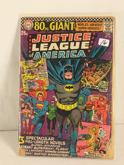 Collector Vintage DC, Comics 80pg. Giant Justice League Of America Comic Book No.48
