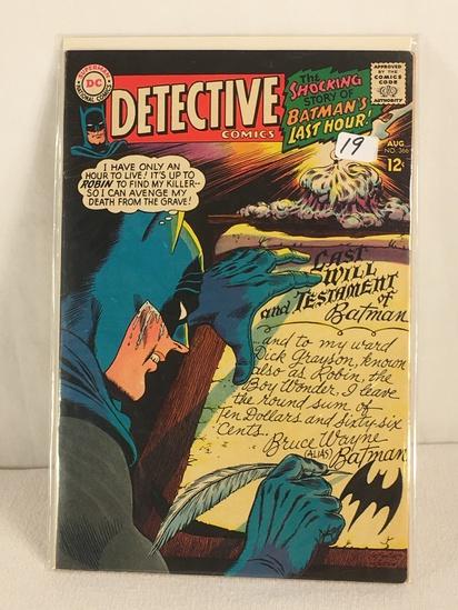Collector Vintage DC, Comics Detective Comics The Shocking Story Of Batman's Last Hour #366