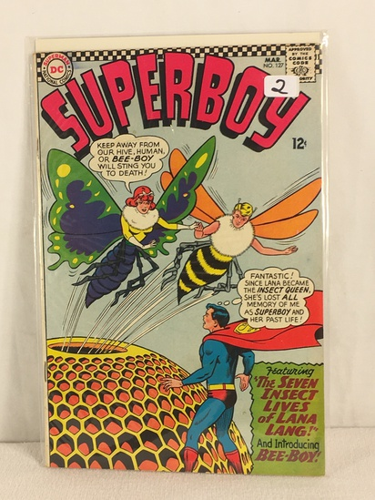Collector Vintage DC, Comics Superboy The Seven Insect Lives Of Lana Lang Bee-Boy #127