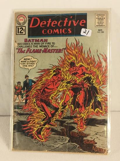Collector Vintage DC, Comics Detective Comics Batman The Flame-Master Comic Book #307