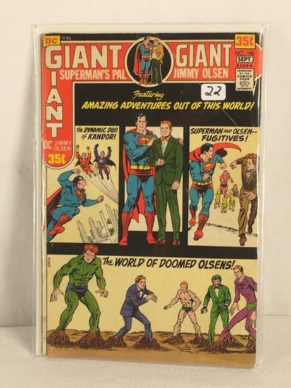 Collector Vintage DC, Comics Giant Superman's Pal Jimmy Olsen Comic Book No.140