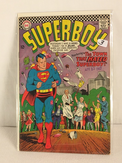 Collector Vintage DC, Comics Superboy The Town That Hated Superboy Comic Book #139