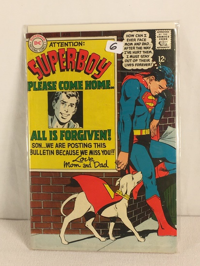 Collector Vintage DC, Comics Attention Superboy Please Come Home All Is Forgiven Comic #146