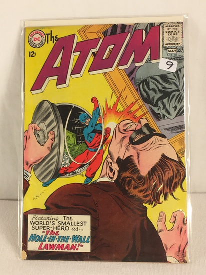 Collector Vintage DC, Comics The ATOM The Hole-IN-The-Wall Lawman Comic Book #18