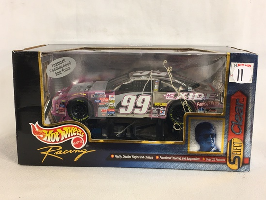 Collector Nascar Hot wheels Mattel Raing #99 Select Clear 1/24 Scale