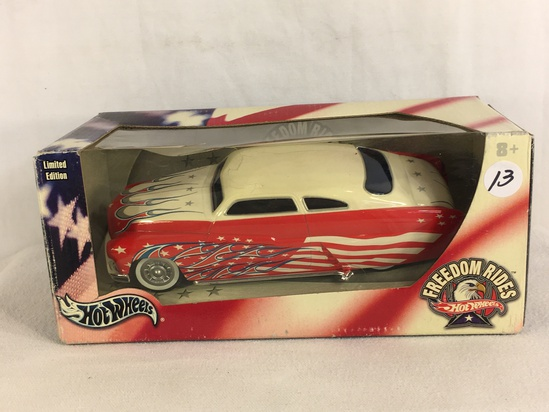 Collector Nascar Hot wheels Fredom Rides Limited Edition  '49 Merc/G9236 Scale 1/24th