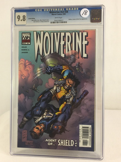 Collector CGC Universal Grade 9.8 Wolverine #v3 #26 Marvel Comics 5/05