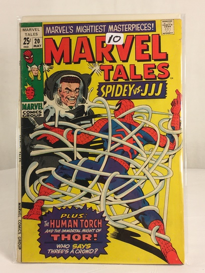 Collector Vintage Comics Marvel's Mightiest Masterpieces Marvel Tales Comic Book No.20