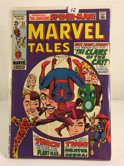 Collector Vintage Marvel Comics The Amazing Spider-man Marvel Tales Comic Book No.23
