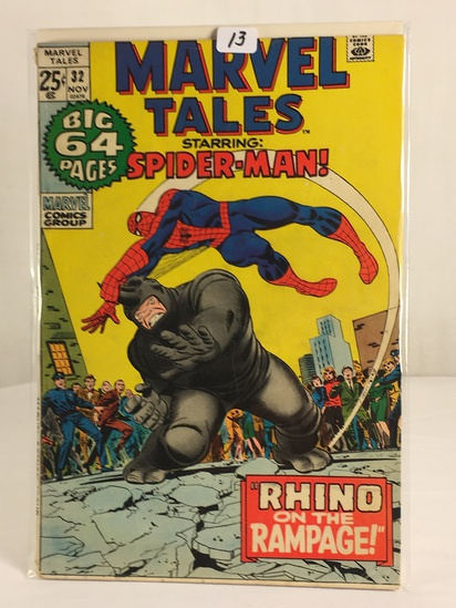 Collector Vintage Marvel Comics The Amazing Spider-man Marvel Tales Comic Book No.32