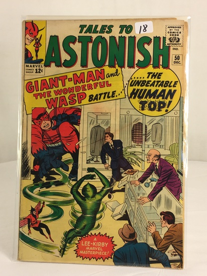 Collector Vintage Marvel Tales To Astonish Giant-Man and Wonderful Wasp Comic Book No.50