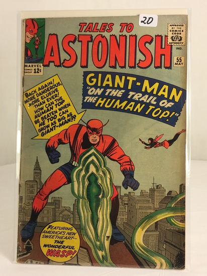 Collector Vintage Marvel Tales To Astonish Giant-Man Comic Book No.55