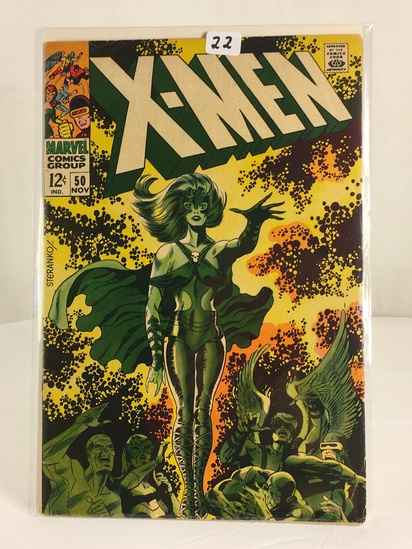 Collector Vintage Marvel Comics X-Men Comic Book No.50