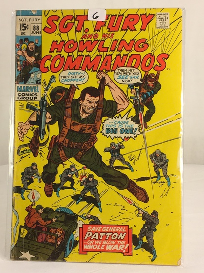 Collector Vintage Marvel Comics SGT. FURY and His Howling Commandos Comic Book #88