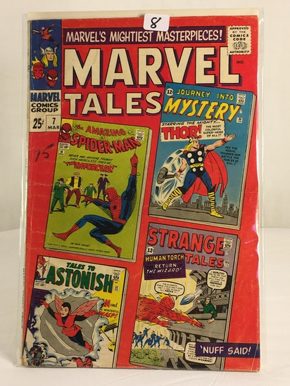 Collector Vintage Comics Marvel's Mightiest Masterpieces Marvel Tales Comic Book No.7