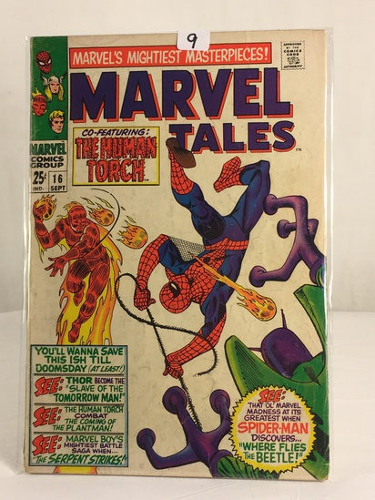 Collector Vintage Comics Marvel's Mightiest Masterpieces Marvel Tales Comic Book No.16
